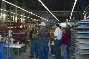 A WalzCraft plant tour at a recent CMA Midwest-regional event in Lacrosse, Wis.