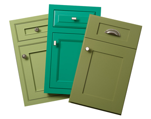 Plain & Fancy offers custom color matching in emerald shades for a variety of applications.